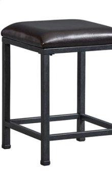Metal Stool, W/uph Seat
