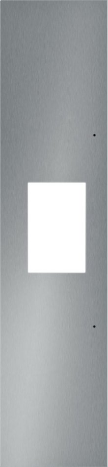 """18"""" Stainless Steel Panel for External Dispenser -Flat TFL18ID800"""