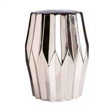Column Stool Silver