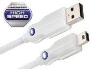 Essentials High Performance Mini USB Cables - 0.5 feet / A to Mini B