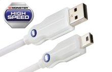 Essentials High Performance Mini USB Cables - 0.5 feet / A to Mini B