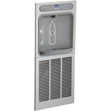 Elkay EZH2O In-Wall Bottle Filling Station, High Efficiency Filtered 8 GPH Stainless