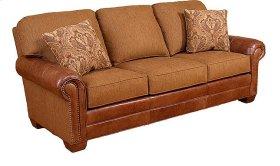 Candice Leather/ Fabric Sofa