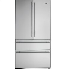 GE Monogram® 20.6 Cu. Ft. French Door Two Drawer Free-Standing Refrigerator
