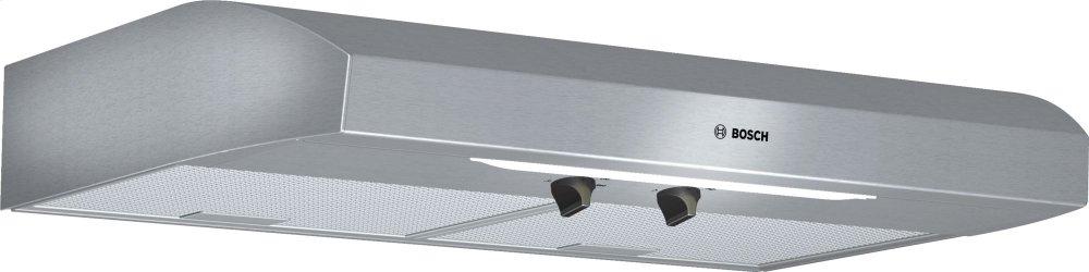 "300 Series, 30"" Under-cabinet Hood, 280 CFM, Incandescent lights, Stnls  STAINLESS STEEL"