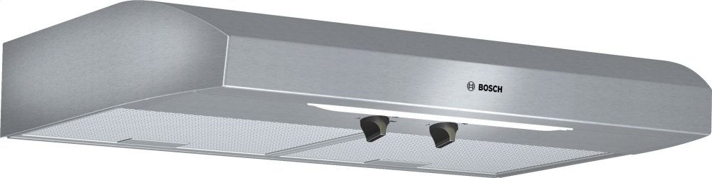 """300 Series, 30"""" Under-cabinet Hood, 280 CFM, Incandescent lights, Stnls"""