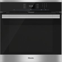 H 6560 BP AM 24 Inch Convection Oven with AirClean catalyzer and Roast probe for precise cooking.