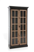 Bella Two Tone Black Cabinet Product Image