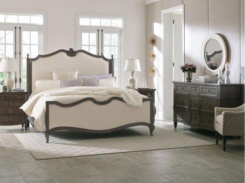 Paris Parisian Upholstered Bed (Cal. King)