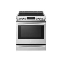 6.3 cu. ft. Smart wi-fi Enabled Induction Slide-in Range with ProBake Convection® and EasyClean®
