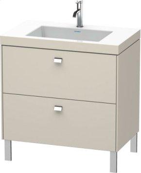 Furniture Washbasin C-bonded With Vanity Floorstanding