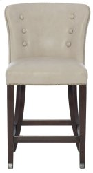 Denford Leather Counter Stool in Cocoa Product Image