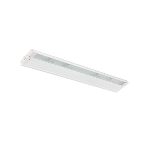 "4U Series 12V Xenon Collection 30"" Xenon Harmonization 12V Cabinet Light - WHT"