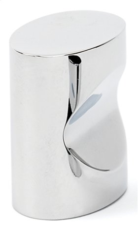 Contemporary III Oval Knob A250-1 - Polished Chrome