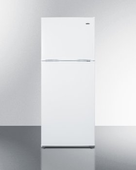 """24"""" Wide 9.9 CU.FT. Frost-free Refrigerator-freezer In White Finish"""