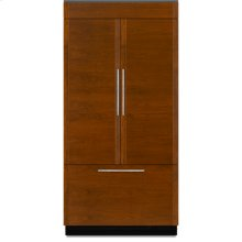"42"" Built-In French Door Refrigerator also sold with a JPK42FNXEPS Stainless Steel Panels with Pro-Style Handles"