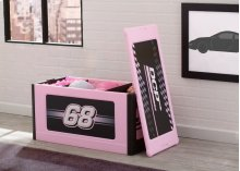 Turbo Store and Organize Toy Box, Pink - Pink