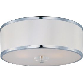 Metro 3-Light Semi-Flush Mount