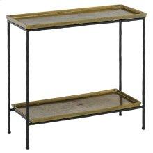 Boyles Brass Side Table