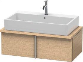 Vero Vanity Unit For Console Compact, Brushed Oak (real Wood Veneer)
