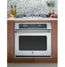 "GE Cafe Series 30"" Built-In Single Convection Wall Oven"