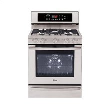 5.4 cu. ft. Capacity Premium Gas Single Oven Range with EvenJet Convection System and Warming Drawer
