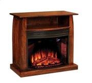 "Mid Century 38"" Fireplace Media Cabinet Product Image"