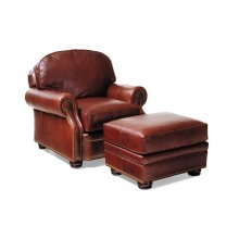 Evening Chair and Ottoman