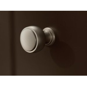 Weymouth polished nickel drawer knob
