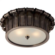 Visual Comfort AH4010GM-FG Alexa Hampton Vivien 2 Light 13 inch Gun Metal Flush Mount Ceiling Light