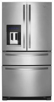 36-inch Wide French Door Refrigerator with External Refrigerated Drawer - 25 cu. ft. Product Image