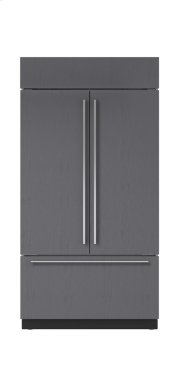 """42"""" Built-In French Door Refrigerator/Freezer with Internal Dispenser - Panel Ready Product Image"""