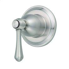 Brushed Nickel Opulence® Volume Control or Diverter Valve Trim Kit