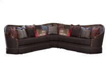 Gracious Living Bolet Left and Right Arm Facing Sofa and Wedge