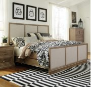 Sonoma King Bed Taupe Gray Product Image