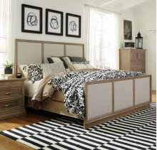 Sonoma King Bed Weathered Gray