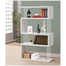 Asymmetrical Bookcase