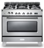 """Stainless Steel  Classic 36"""" Dual Fuel Single Oven Range"""