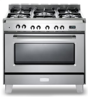 "Stainless Steel Verona Classic 36"" Dual Fuel Single Oven Range"