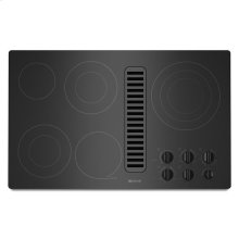 """(DISCONTINUED FLOOR MODEL 1 ONLY)Jenn-Air® Electric Radiant Downdraft Cooktop, 36"""" - Black"""
