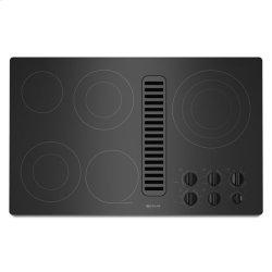 "Jenn-Air® Electric Radiant Downdraft Cooktop, 36"" - Black"
