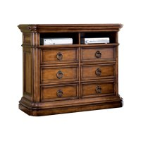 San Mateo 6 Drawer Media Chest Product Image