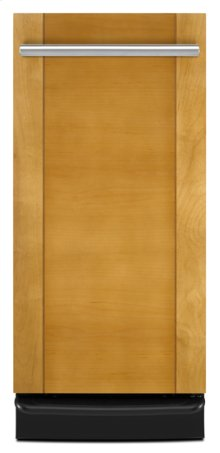 """Black Console/Reversible Panel Jenn-Air® 15 """" Trash Compactor, Panel Kit models are W10197421-SS, W10267290-WH, W10267300-BL"""