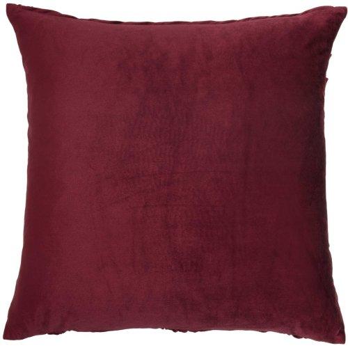 "Life Styles L0066 Burgundy 22"" X 22"" Throw Pillows"