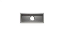 "UrbanEdge® 003617 - undermount stainless steel Bar sink , 18"" × 7"" × 6"""