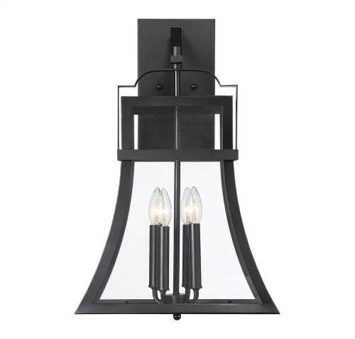 "Avon 4 Light 23"" Exterior Wall Lantern"