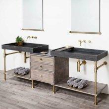 Double Elemental Vanity