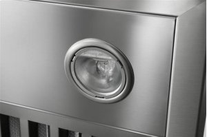 """Colonne - 54"""" Stainless Steel Chimney Range Hood with a choice of Exterior or In-line blowers"""