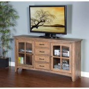 "Driftwood Elements 64"" TV Console Product Image"