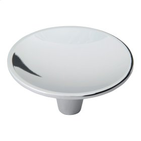 Dap Round Knob 2 1/2 Inch - Polished Chrome